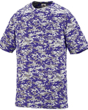 1798 Augusta Sportswear Adult Digi Camo Wicking Short-Sleeve T-Shirt