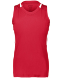 2437 Augusta Sportswear Girls Crossover Sleeveless T-Shirt
