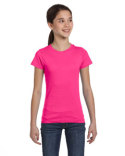 2616 LAT Girls' Fine Jersey T-Shirt