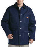 3494 Dickies Unisex Denim Blanket Lined Chore Coat