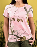 3685 Code Five Ladies' Realtree Camo T-Shirt