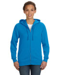 3763 LAT Ladies' Zip French Terry Hoodie