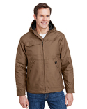 5065 Dri Duck Men's 8.5oz, 60% Cotton/40% Polyester Storm Shield TM Hooded Canvas Yukon Jacket