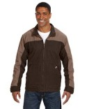 5089T Dri Duck Men's 100% Cotton 12oz Canvas/3oz Polyfill Insulation Tall Horizon Jacket