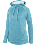 5556 Augusta Sportswear Ladies' Zoe Tonal Heather Hoodie