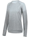 5575 Augusta Sportswear Ladies' Zoe Tonal Heather Pullover