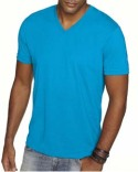 6440 Next Level Men's Sueded V-Neck T-Shirt