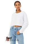 6501B Bella + Canvas FWD Fashion Ladies' Cropped Long-Sleeve T-Shirt