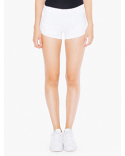 7301W American Apparel Ladies' Interlock Running Shorts