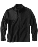 7345 Dri Duck Men's 100% Polyester Nano Fleece TM 1/4 Zip Interval Pullover