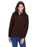 78080 North End Ladies' Glacier Insulated Three-Layer Fleece Bonded Soft Shell Jacket with Detachable Hood