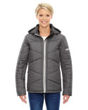 78698 North End Ladies' Avant Tech Mélange Insulated Jacket with Heat Reflect Technology