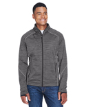 88697 Ash City - North End Men's Flux Mélange Bonded Fleece Jacket
