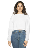 AF3451W American Apparel Ladies' Flex Fleece Raglan Cropped Sweatshirt