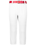 AG1485 Augusta Sportswear Adult Pull-Up Baseball Pant with Loops