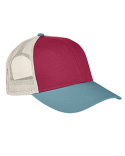 AP1919 Authentic Pigment Tri-Color Trucker Cap