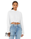 B6512 Bella + Canvas FWD Fashion Ladies' Cinched Cropped Hooded T-Shirt