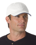 BA3617 Bayside 100% Washed Cotton Unstructured Sandwich Cap