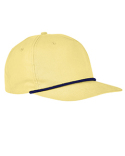 BA671 Big Accessories 5-Panel Golf Cap