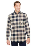 BP7001 Backpacker Men's Yarn-Dyed Flannel Shirt