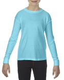 C3483 Comfort Colors Youth 5.4 oz. Garment-Dyed Long-Sleeve T-Shirt
