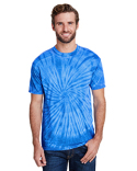 CD1090 Tie-Dye Adult Burnout Festival T-Shirt