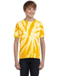 CD110Y Tie-Dye Youth 5.4 oz., 100% Cotton Twist Tie-Dyed T-Shirt