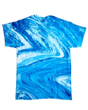 CD1111 Tie-Dye Adult 100% Cotton Marble T-Shirt
