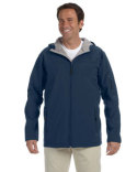 D998 Devon & Jones Men's Soft Shell Hooded Jacket