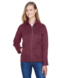 DG793W Devon & Jones Ladies' Bristol Full-Zip Sweater Fleece Jacket