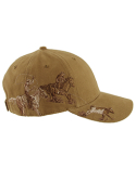 DI3263 Dri Duck Brushed Cotton Twill Team Roping Cap