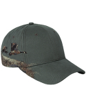 DI3324 Dri Duck Canada Goose Soft Structured Mid-Profile Hat