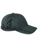 DI3330 Dri Duck Brushed Cotton Twill Oil Field Cap