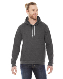 F498W American Apparel Unisex Flex Fleece Drop Shoulder Pullover Hoodie