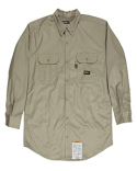 FRSH10 Berne Men's Flame-Resistant Button-Down Work Shirt