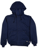 FRSZ19 Berne Men's Flame Resistant Full-Zip Hooded Sweatshirt