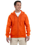 G126 Gildan Adult DryBlend® Adult 9 oz., 50/50 Full-Zip Hooded Sweatshirt
