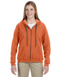 G187FL Gildan Heavy Blend™ Ladies' 8 oz. Vintage Classic Full-Zip Hooded Sweatshirt