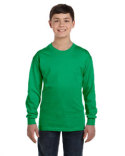G540B Gildan Youth Heavy Cotton™ Long-Sleeve T-Shirt