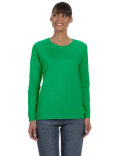 G540L Gildan Ladies' Heavy Cotton™ Long-Sleeve T-Shirt