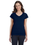 G64VL Gildan Ladies' SoftStyle®  Fitted V-Neck T-Shirt