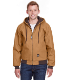 HJ51 Berne Men's Heritage Cotton Duck Hooded Jacket