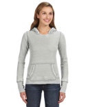 JA8912 J America Ladies' Zen Pullover Fleece Hood