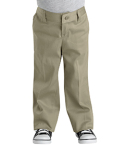 KP3318 Dickies Girl's  Classic Fit Straight-Leg Twill Stretch Pant