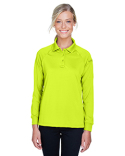 M211LW Harriton Ladies' Tactical Long-Sleeve Performance Polo