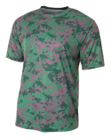 N3256 A4 Men's Camo Performance Crew T-Shirt