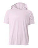 N3408 A4 Men's Cooling Performance Hooded T-shirt