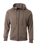 N4001 A4 Men's Agility Full-Zip Tech Fleece Hooded Sweatshirt