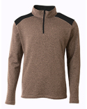 N4094 A4 Men's Tourney Fleece Quarter-Zip Pullover