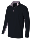 N4246 A4 Adult Tech Fleece 1/4 Zip Jacket
